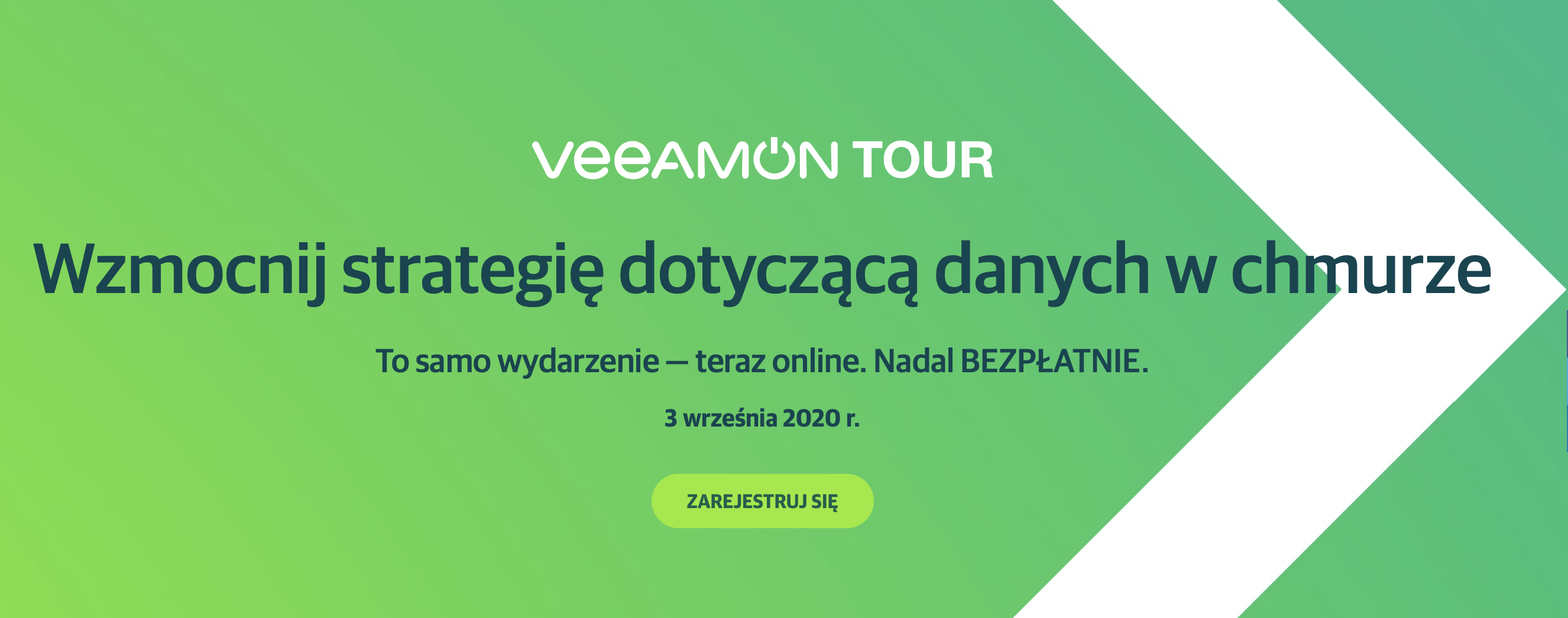Veeam on tour Poland