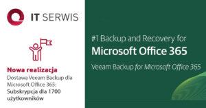 Veeam Backup dla Microsoft Office 365