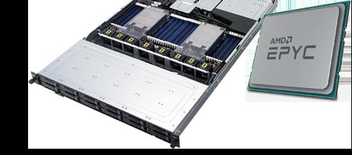 serwery z procesorami AMD